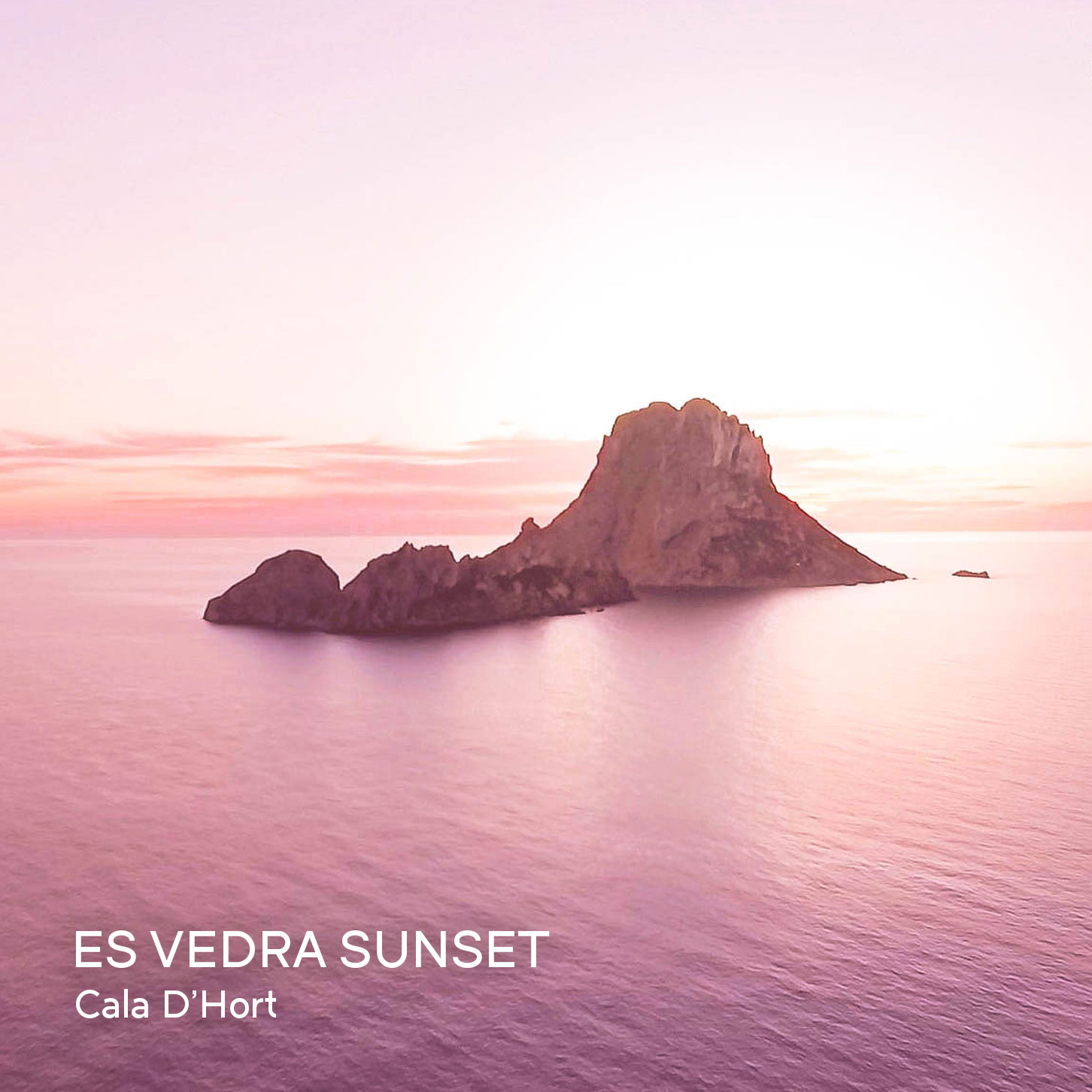 Ibiza by Air Drone Video - Es Vedra Sunset