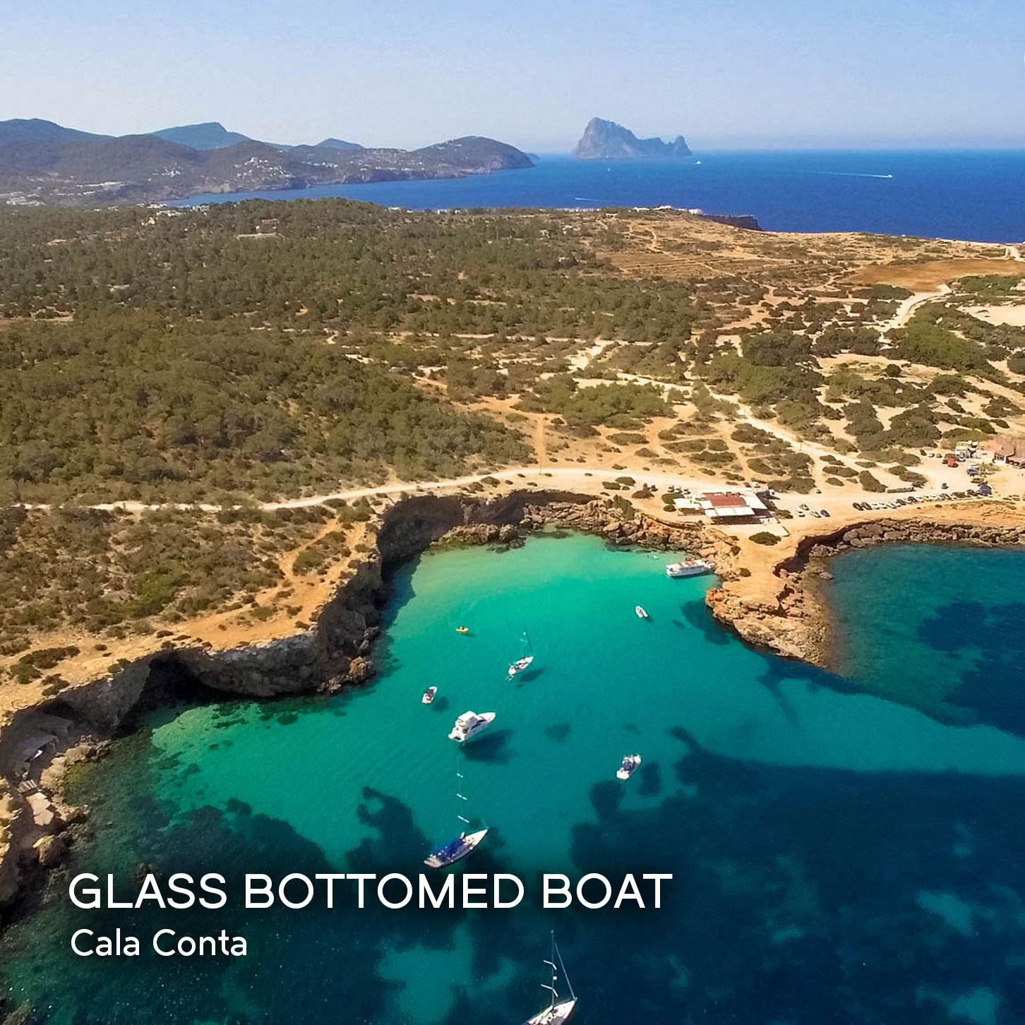 Ibiza by Air Drone Video - Cala Conta