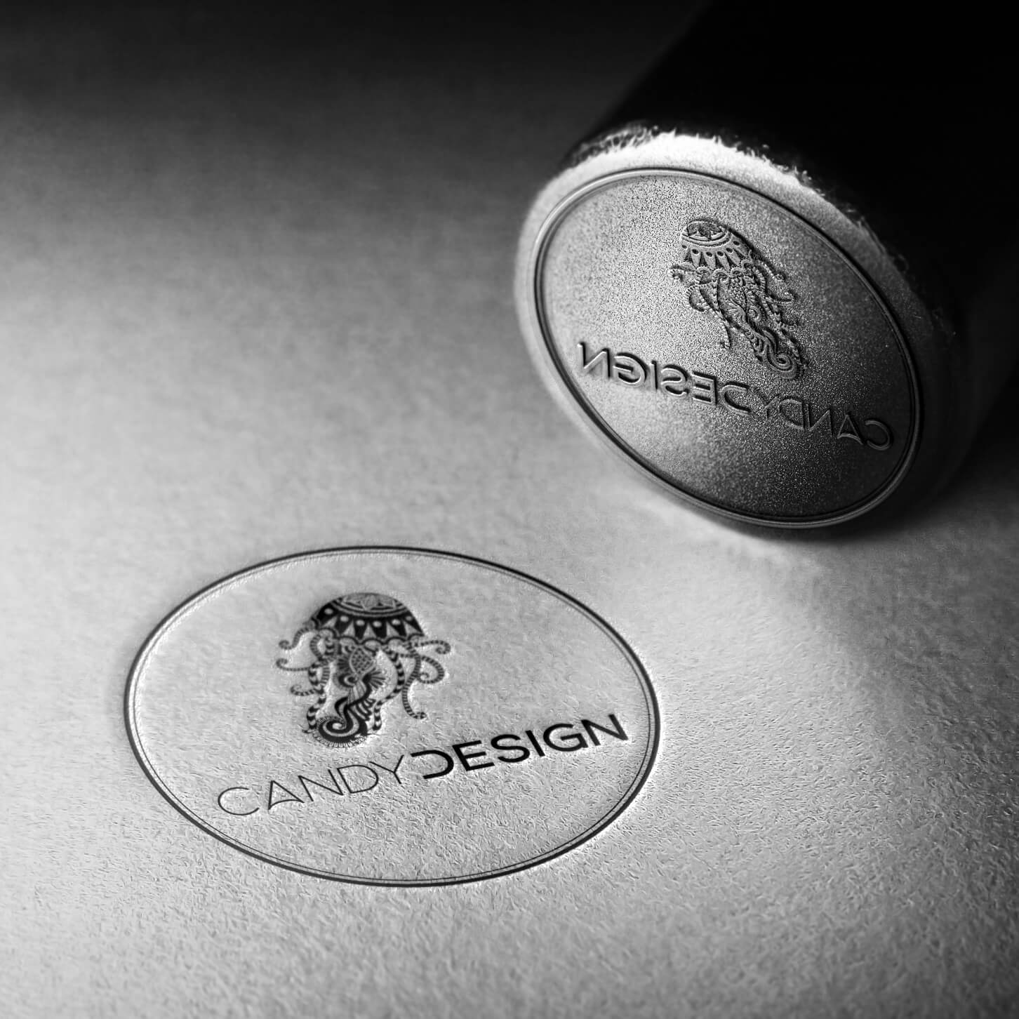 Candydesign branding stamp